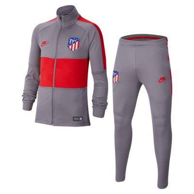 Conjunto de entrenamiento de fútbol para niño talla grande Atlético de Madrid Strike