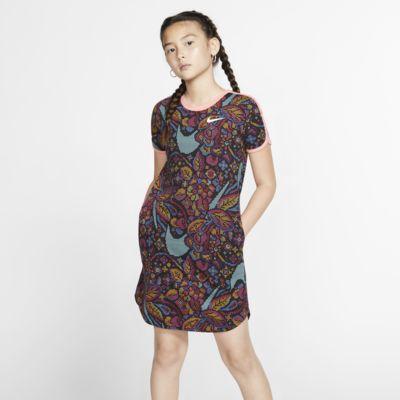 Nike Sportswear Vestido con Swoosh - Niña