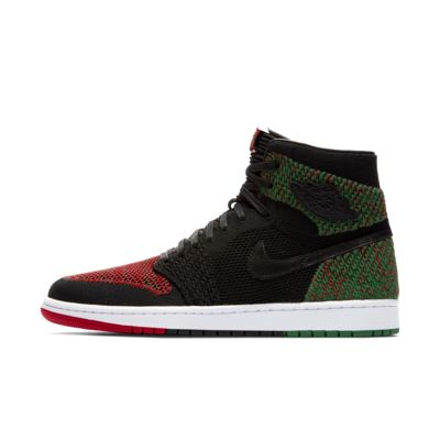 Air Jordan 1 RE HI Flyknit BHM 复刻男子运动鞋