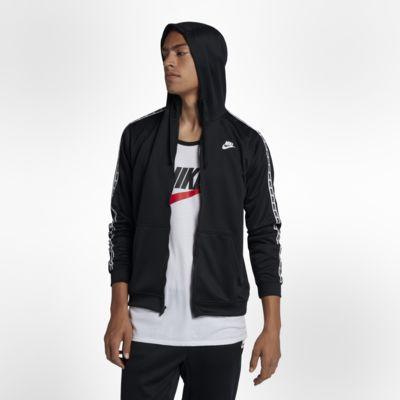 Nike Sportswear-hættetrøje med lynlås til mænd