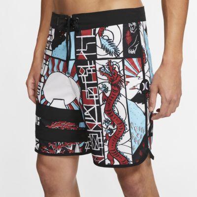 "Hurley Phantom Block Party Yabai Men's 18"" Board Shorts"
