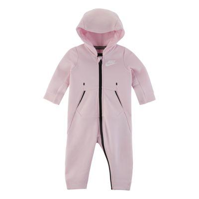 Kombinezon z kapturem dla niemowląt (0-9 M) Nike Tech Fleece