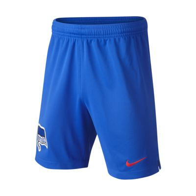 Shorts de fútbol para niños talla grande de local y visitante Stadium del Hertha BSC 2018/19