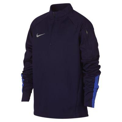 Футболка для футбольного тренинга для мальчиков школьного возраста Nike Shield Squad