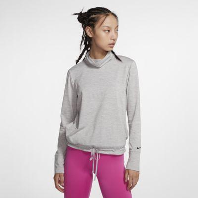 Nike Yoga Women's Funnel-Neck Top
