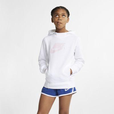 Sudadera con capucha sin cierre con estampado para niña talla grande Nike Sportswear