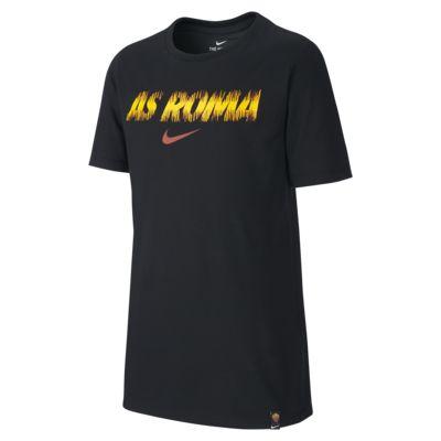 T-shirt de futebol Nike Dri-FIT A.S. Roma Júnior