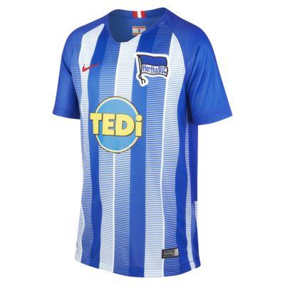 2018/19 Hertha BSC Stadium Home Older Kids' Football Shirt