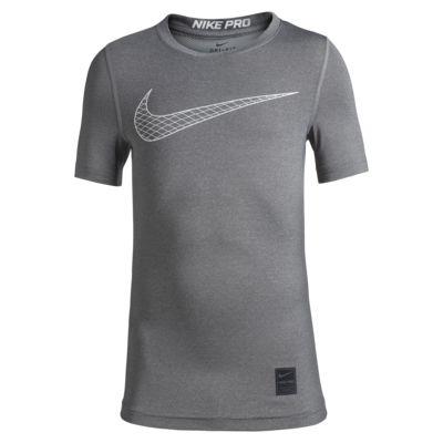 Nike Pro Kurzarm-Trainingsoberteil für ältere Kinder (Jungen)