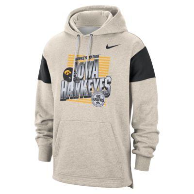 Nike College (Iowa) Men's Pullover Hoodie