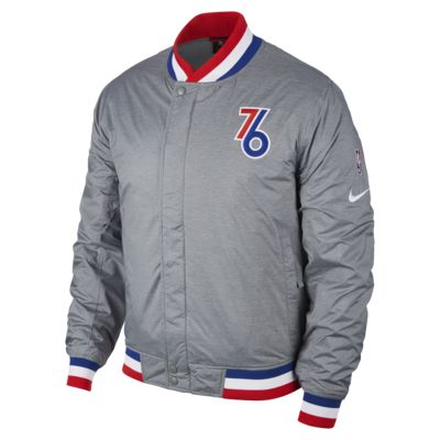 Philadelphia 76ers Nike Courtside Men's NBA Jacket