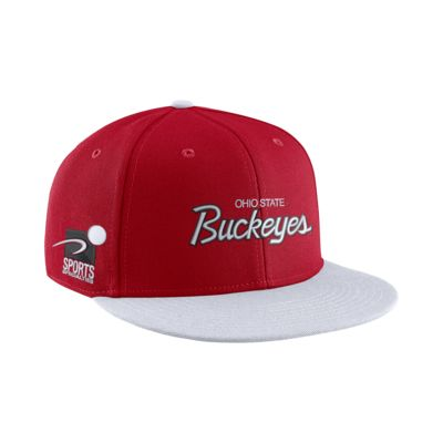 Nike College True Sport (Ohio State) Adjustable Hat