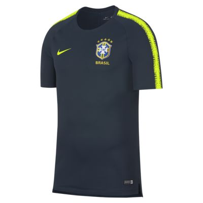 Brazil CBF Breathe Squad Men's Football Top