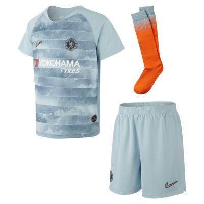 2018 Chelsea FC Stadium Away Third Fußballtrikot-Set für jüngere Kinder