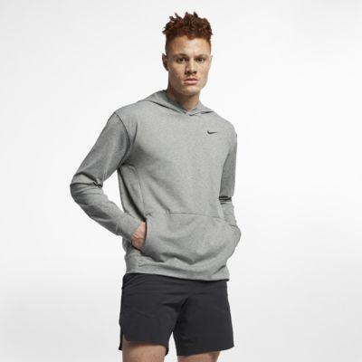 Nike Dri-FIT Men's Pullover Long-Sleeve Yoga Training Hoodie