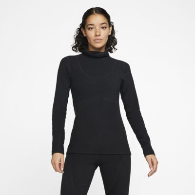 Haut en velours Nike Pro HyperWarm pour Femme