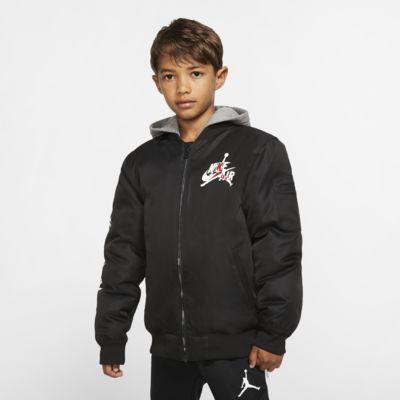 Bomber Jordan Jumpman s kapucí pro větší děti (chlapce)