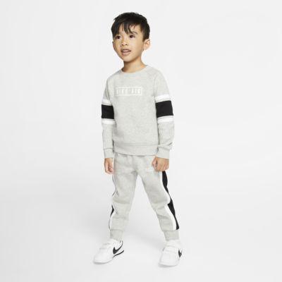 Completo in 2 pezzi maglia a girocollo e pantaloni jogger Nike Air - Bimbi piccoli