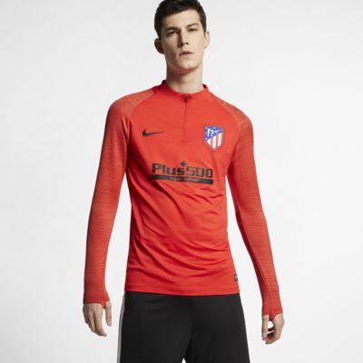 Nike Dri-FIT Atlético de Madrid Strike-fodboldtræningsoverdel til mænd