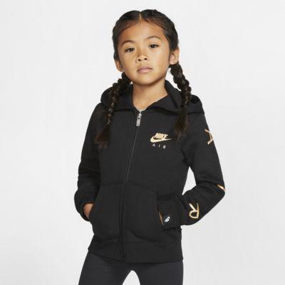 Nike Sportswear Fleece-Hoodie mit durchgehendem Reißverschluss für jüngere Kinder