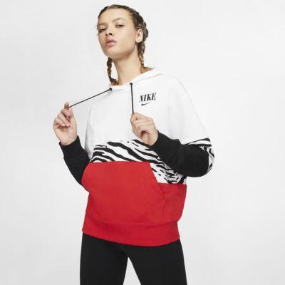 Nike Sportswear Essential Fransız Havlu Kumaşı Grafikli Kadın Kapüşonlu Sweatshirt'ü