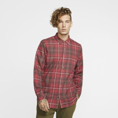 Hurley Vedder Washed Men's Long-Sleeve Top