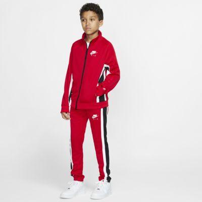 Conjunto de entrenamiento para niños talla grande Nike Air