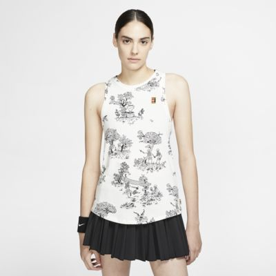 Damska koszulka bez rękawów do tenisa NikeCourt