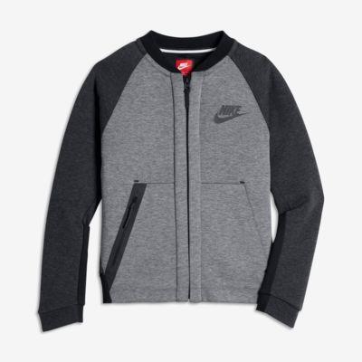 Купить Куртка для мальчиков школьного возраста Nike Sportswear Tech Fleece Bomber