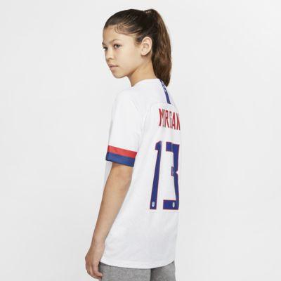 U.S. 2019 Stadium Home (Alex Morgan) Big Kids' Soccer Jersey