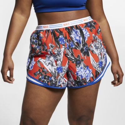 Nike Tempo Women's Floral Running Shorts (Plus Size)