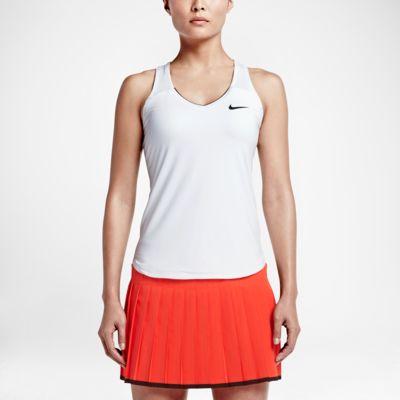 Damska koszulka tenisowa bez rękawów NikeCourt Team Pure
