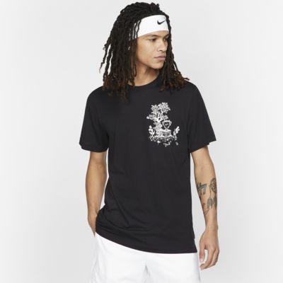 Męski T-shirt do tenisa NikeCourt