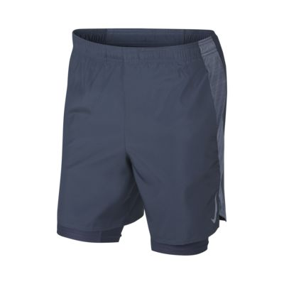 """Nike Challenger Men's 7"""" (18cm approx.) 2-in-1 Running Shorts"""