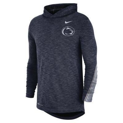 Nike College (Penn State) Men's Long-Sleeve Hooded T-Shirt