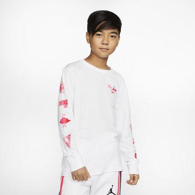 Air Jordan 大童(男孩)长袖T恤