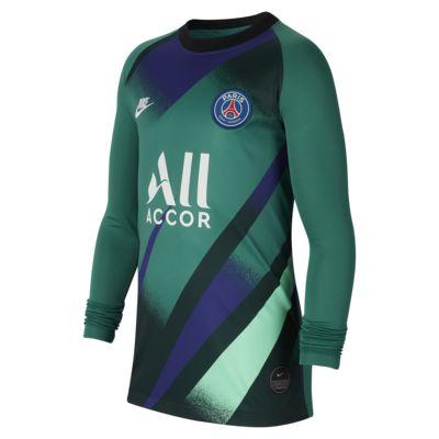 Camiseta de fútbol para niños talla grande alternativa de arquero Stadium del Paris Saint-Germain 2019/20