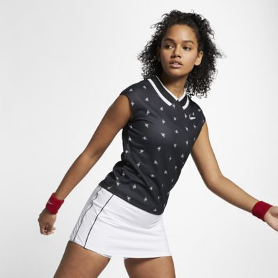 NikeCourt Dri-FIT Damen-Tennisoberteil