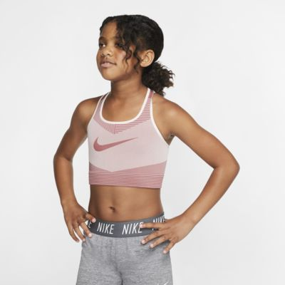 Nike FE/NOM 大童(女童)無縫運動內衣