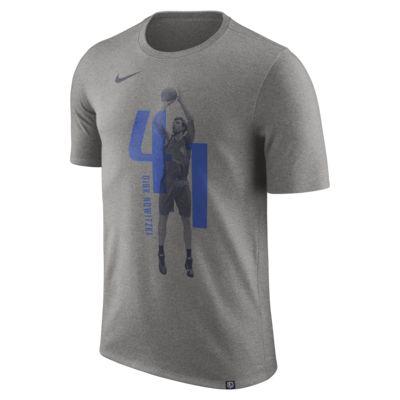 T-shirt Dirk Nowitzki Dallas Mavericks Nike Dry NBA - Uomo