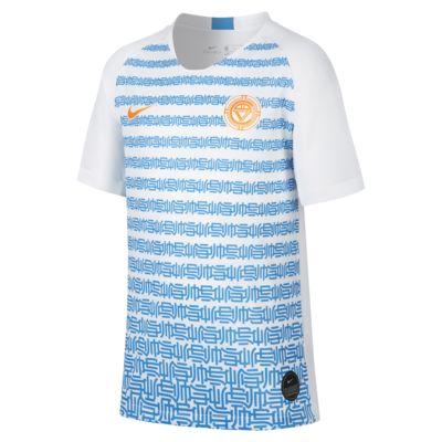 Nike Breathe 耐克C罗系列大童(男孩)足球球衣
