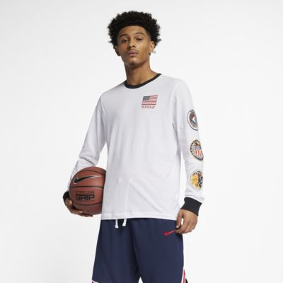 Nike PG NASA Men s Long-Sleeve Basketball T-Shirt. Nike.com 32e065396ab6