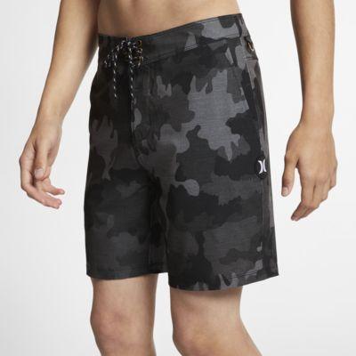Shorts de playa de 46 cm para hombre Hurley Phantom Gallows Beachside