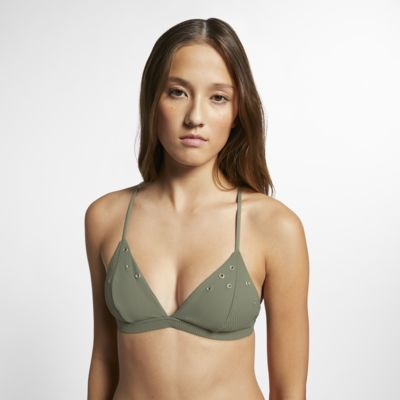 Hurley Quick Dry Snap Women's Ribbed Surf Top