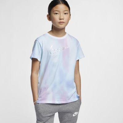 Nike Sportswear Older Kids' (Girls') Printed T-Shirt