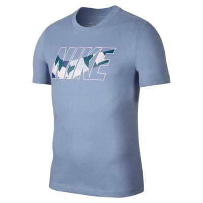 เสื้อยืดเทรนนิ่งผู้ชายลายพราง Nike Dri-FIT