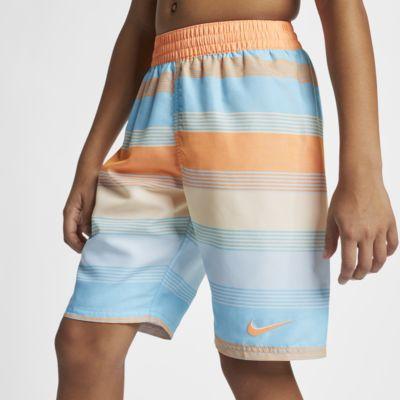 """Nike Linen Breaker Big Kids' (Boys') 8"""" Swim Trunks"""