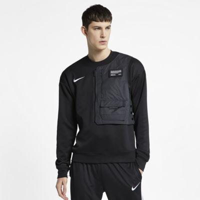 Fotbollströja med rund krage Nike F.C. för män