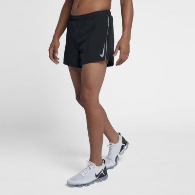 Купить Мужские беговые шорты Nike Fast 10 см, Черный/Пороховой дым, 20978077, 12108734