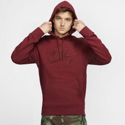 Skatehuvtröja Nike SB Icon Pullover för män